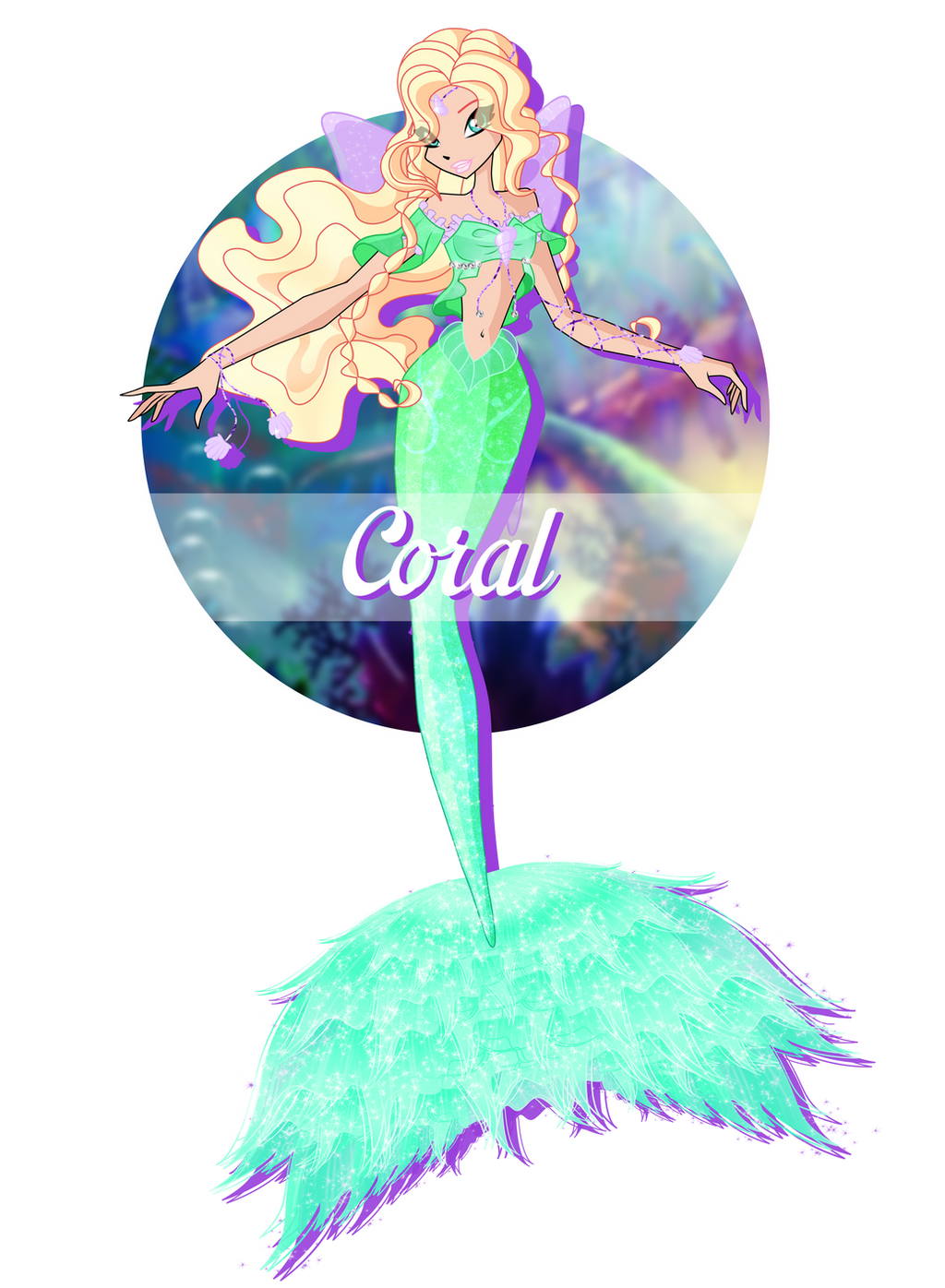 ce coral mermaid form by ultimix on deviantart