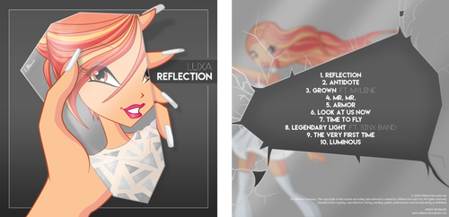 Luxa's debut album: Reflection by Ultimix