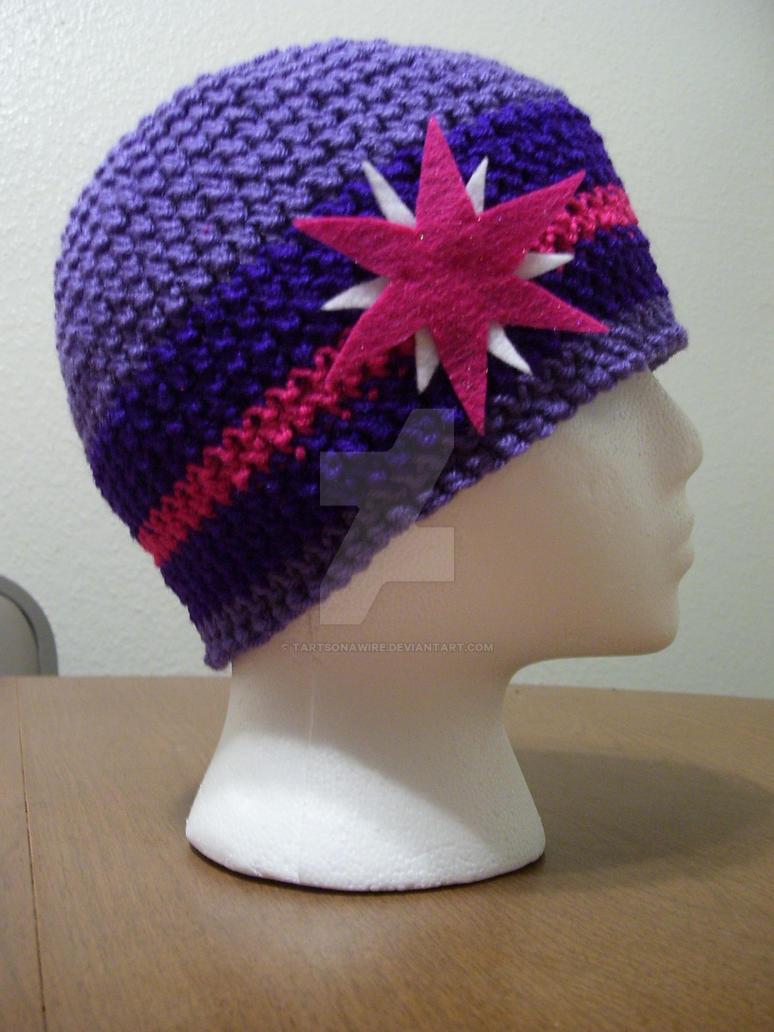 My Little Pony Twilight Sparkle Crochet Beanie Hat By Tartsonawire