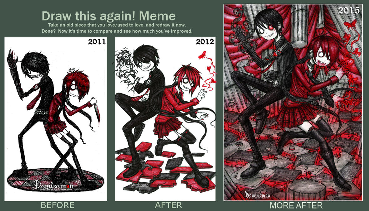 Draw this again! meme (2015 UPDATE) by DemiseMAN