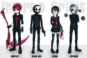 Characters design for Inferno Crisis #2