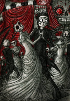Dancing in Day of The Dead