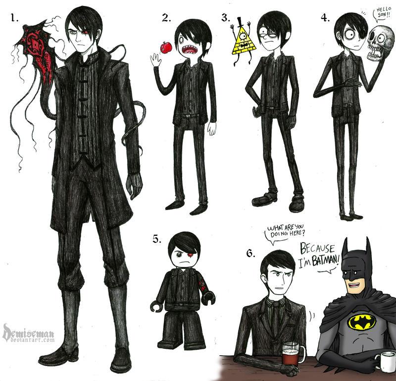 Doodles 3 (Random style) by DemiseMAN