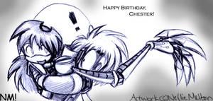 Birthday Hug by spookydoom