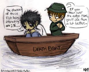 Fanart- Death Boat by spookydoom