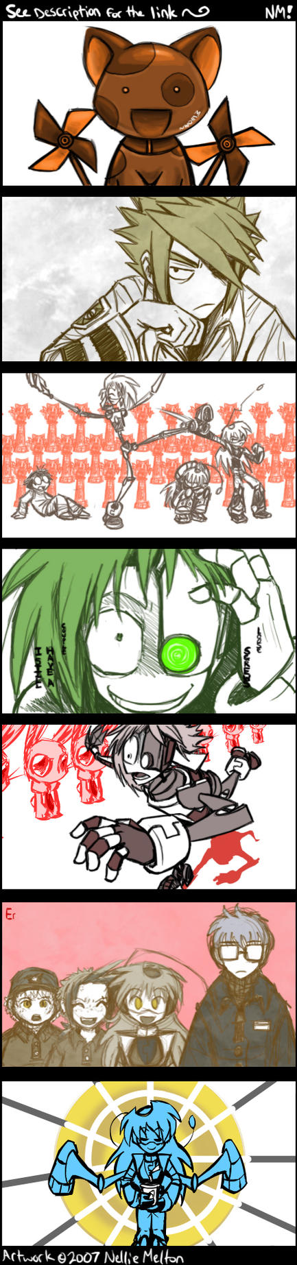 Flash- Sayonara Zetsubou N by spookydoom