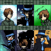 PIXIV Style Meme - Kilroy by spookydoom