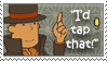 Stamp- Layton Would Tap That by spookydoom