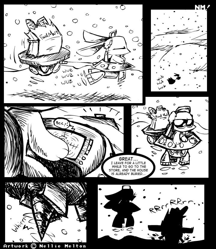 Comic- Let it Snow -page9- by spookydoom