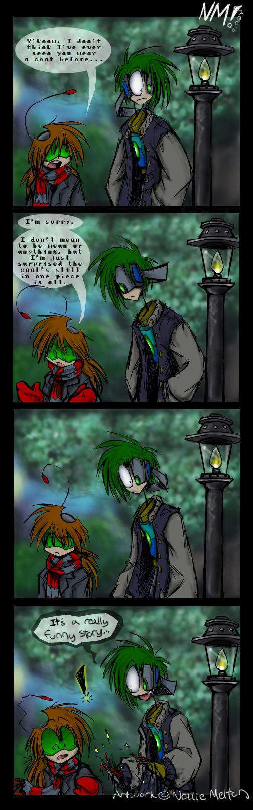 Comic- Coat? by spookydoom