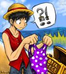 Fanart- Luffy Finds One Piece