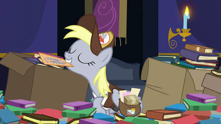 Derpy presenting a letter in s6 ep25