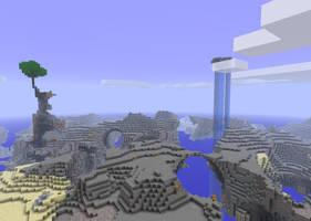 Minecraft - Flying Island by Lexa2