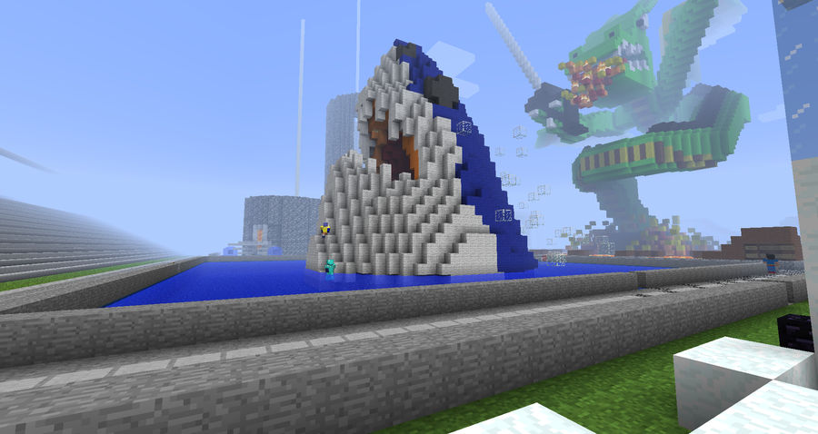 Minecraft - mau5ville by Lexa2