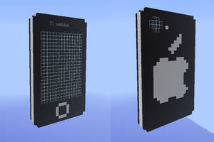 Minecraft - Iphone by Lexa2
