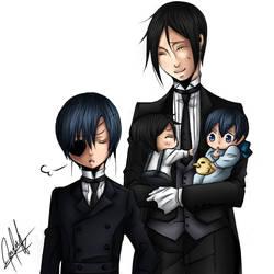 Kuroshitsuji - Family Michaelis- by mechiistar