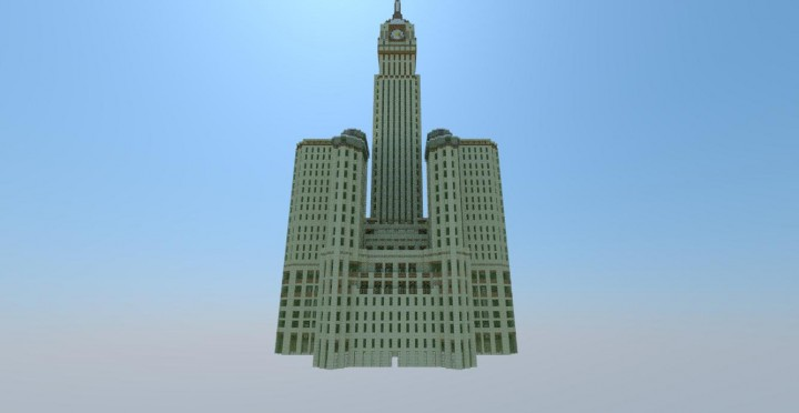 Makkah Clock Royal Tower Hotel Minecraft Building By Bullevcreations On Deviantart