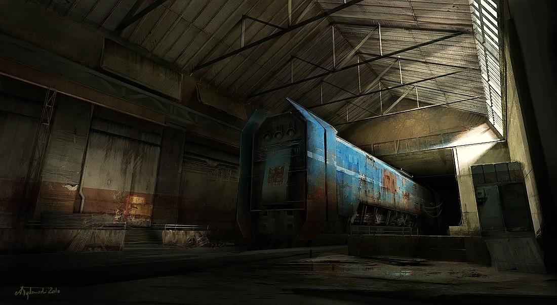 hangar by tredowski