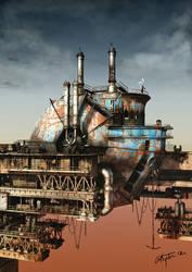 Dry Dock by tredowski