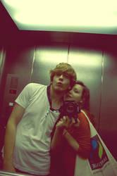 in the elevator by Kicurek1702
