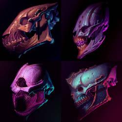 Funky Skullz from the Funky Depthz