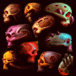 skull sketchezzzzz