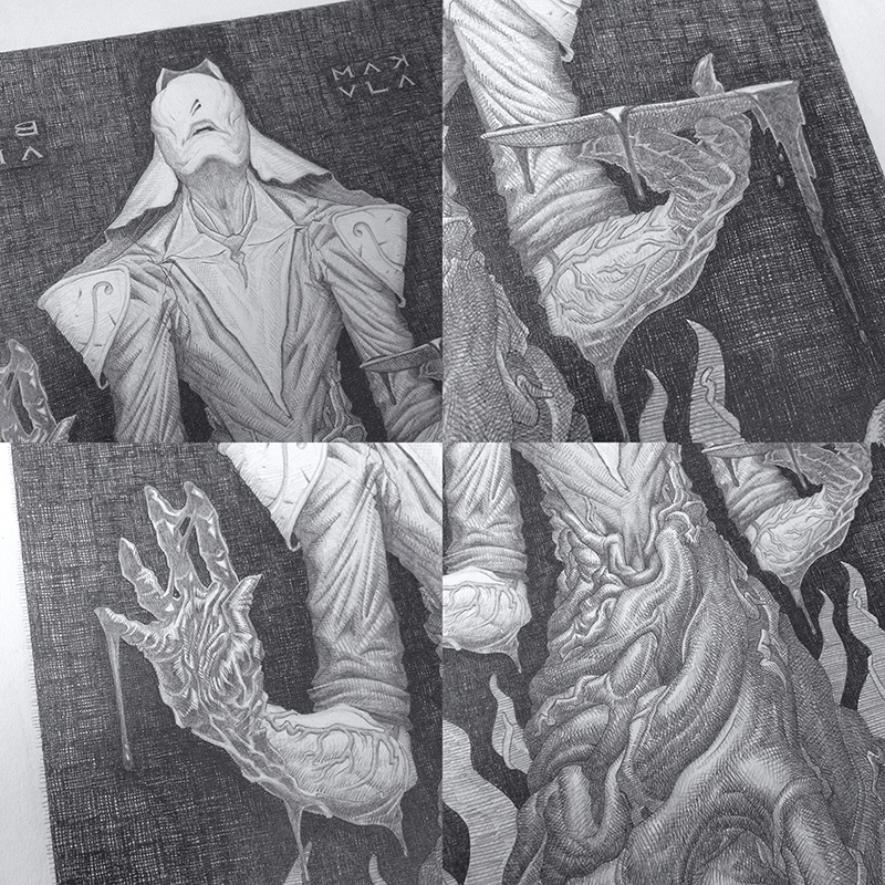 Behance Drawing Details by LostKeep