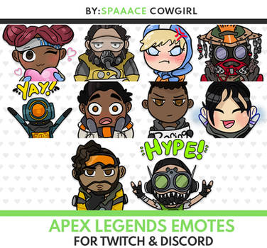 Apex Legends Horizon Emote for Twitch and Discord