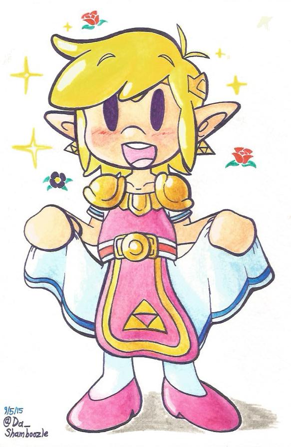 Lil' Princess Boy by JovialSketch
