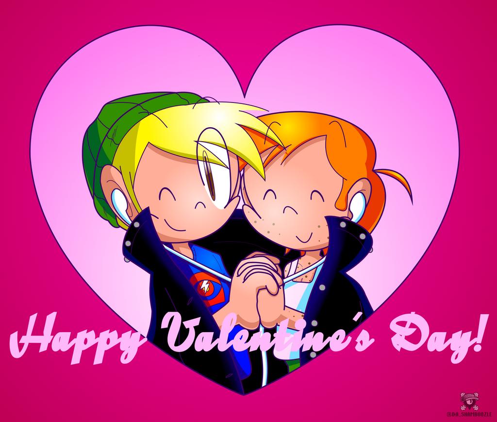 Valentine Boys by JovialSketch