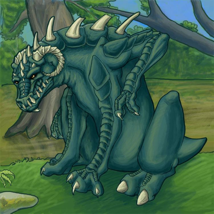 Cenek in the Swamp by blueone