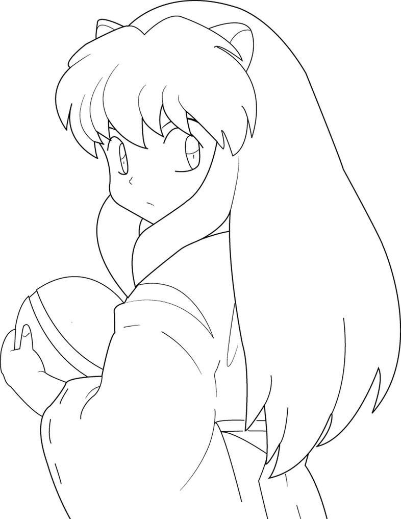online coloring pages inuyasha - photo#28