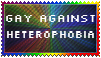 Gay against Heterophobia by Stella-Miner