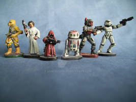 Star Wars Heroes And Villians