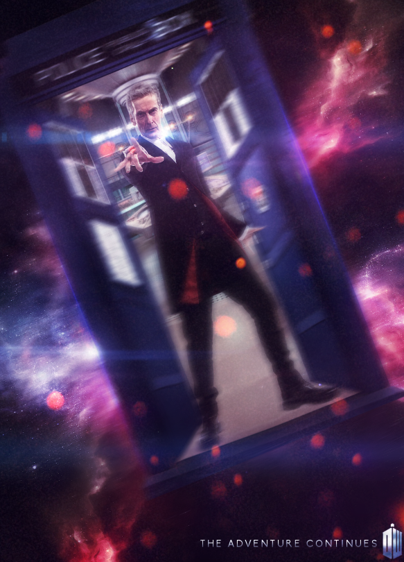 Doctor Who - 12th Doctor Poster - Peter Capaldi by PowerInEyes