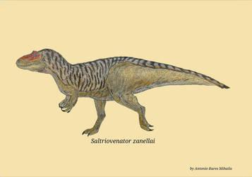 Saltriovenator zanellai by RaresAnimals