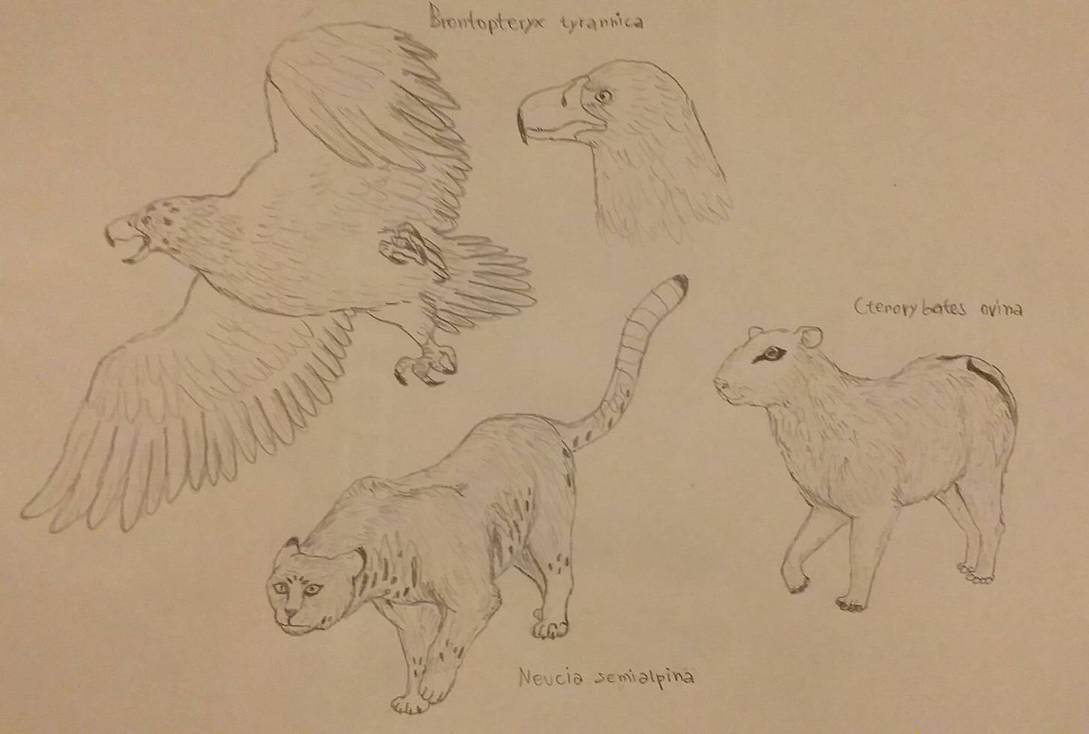 Some Future Animals #2 (commissioned) by RaresAnimals