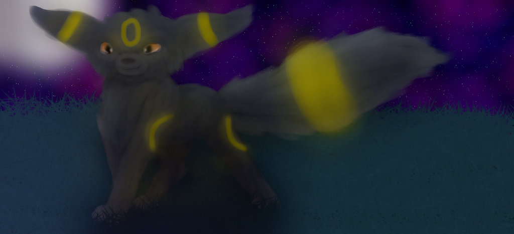 Art Trade For 02am - Umbreon by ResortandFriends