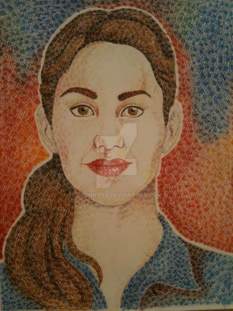 "Maria Teresa ""Mate"" Mirabal - drawing by chennifer"