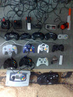 Controllers by Sega32x