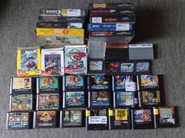 All my Sega Games 'UPDATED' by Sega32x