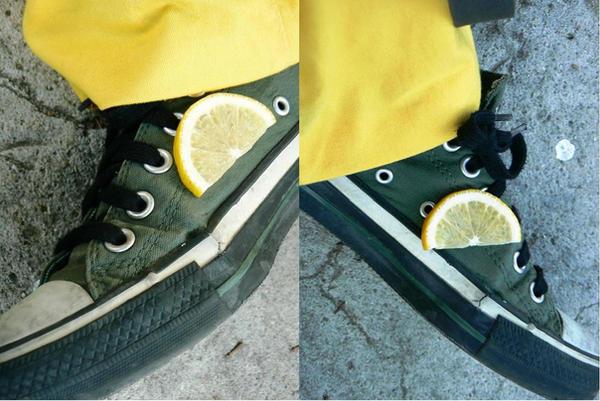 shoes with lemon by quidamonrainbow - * Biz Limonu Sade de yeRiz Fun cLub *