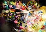 Synesthesia by arcadia-art