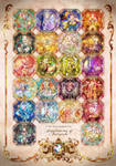Jewelrincess of Fairytale : Jewel Princess Tarot by arcadia-art