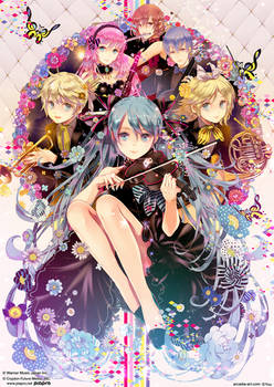 Rainbow Symphony by arcadia-art