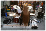 Batteur et longs cheveux by lipickwick