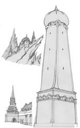 Towers by SabrinaDBlood