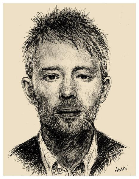 Thom Yorke by TOYIB