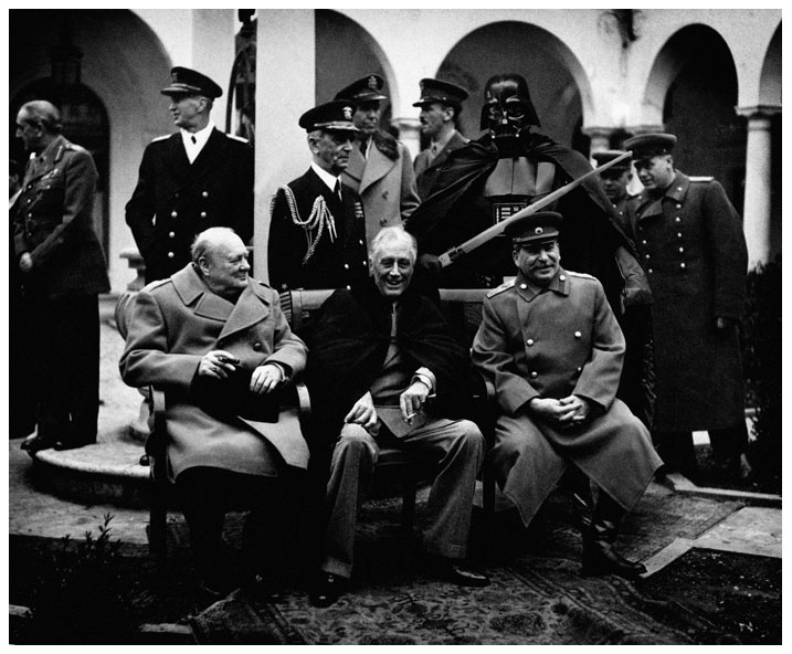 Yalta Conference 1945 by TOYIB
