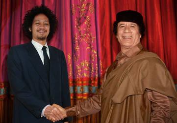 Me And Mr. Gaddafi by TOYIB